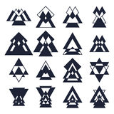 Trendy design elements. Collection of geometric shapes. Hipster Royalty Free Stock Images