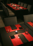 Trendy dinner setting Royalty Free Stock Photo