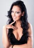 A trendy european woman Royalty Free Stock Photo