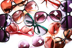 Trendy Eyewear Royalty-vrije Stock Afbeeldingen