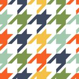 Trendy fabric pattern Stock Images