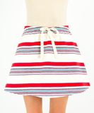 Trendy fashion skirt Stock Images