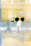 Trendy fashion sunglasses with price tag Stock Photos