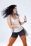 Trendy Funky Girl Stock Photography