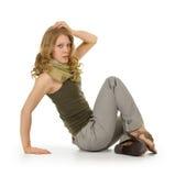 Trendy girl stock images