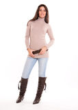 Trendy girl Stock Photography