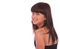 Trendy Girl Close Up 2 Royalty Free Stock Photos