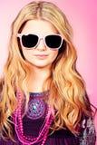Trendy girl Royalty Free Stock Photos