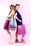 Trendy girls Stock Photo