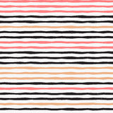 Trendy gold strip vector seamless pattern. Royalty Free Stock Photos