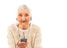 Trendy grandma Stock Photos