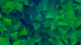 Dark Green Hues Trendy Low Poly Backdrop Design vector illustration