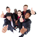 Trendy Group Of Sucessful Businessmen Royalty Free Stock Image