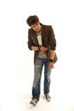 Trendy guy Stock Photo