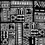 Trendy hand drawn ink pattern. Artwork texture. Perfectly look on fabric, textile, etc. Vector Illustration. Royalty Free Stock Photography