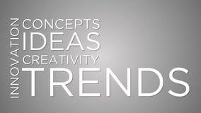 Trendy i innowacja ilustracja wektor