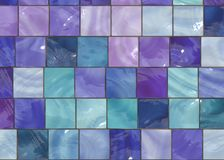 Trendy Interior Design Tiles Royalty Free Stock Image