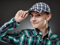 Trendy knappe jonge mens Stock Fotografie