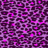 Trendy Leopard or cheetah skin seamless pattern, animal fur back. Ground, vector background in neon colors. Fabric design, wrapping paper, textile Royalty Free Stock Image