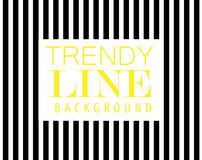 Trendy line background, diagonal black stripe, element of modern design, Royalty Free Stock Photography