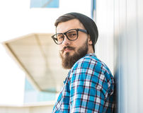 Trendy man Stock Photography