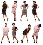 Trendy meisje Stock Fotografie