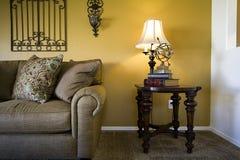 Trendy Moderne Eetkamer royalty-vrije stock afbeelding