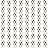 Trendy monochrome dotted lines texture Royalty Free Stock Photography