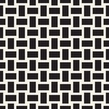 Trendy monochrome twill weave Lattice. Abstract Geometric Background Design. Vector Seamless Pattern. Trendy monochrome twill weave Lattice. Abstract Geometric Royalty Free Stock Photo