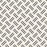 Trendy monochrome twill weave Lattice. Abstract Geometric Background Design. Vector Seamless Pattern. Trendy monochrome twill weave Lattice. Abstract Geometric Royalty Free Stock Photos
