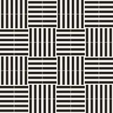 Trendy monochrome twill weave Lattice. Abstract Geometric Background Design. Vector Seamless Pattern. Trendy monochrome twill weave Lattice. Abstract Geometric Stock Photography