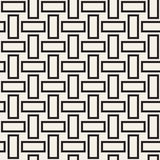 Trendy monochrome twill weave. Vector Seamless Black and White Pattern. Trendy monochrome twill weave.. Abstract Geometric Background Design. Vector Seamless Royalty Free Stock Photo