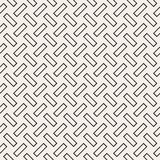 Trendy monochrome twill weave. Vector Seamless Black and White Pattern. Trendy monochrome twill weave. Abstract Geometric Background Design. Vector Seamless Stock Image