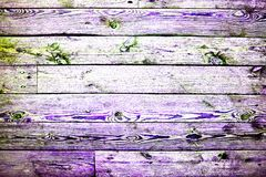 Trendy multicolored high contrast wooden background or texture. Hdr toning image royalty free stock photos