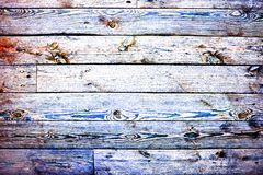 Trendy multicolored high contrast wooden background or texture. Hdr toning image royalty free stock photo