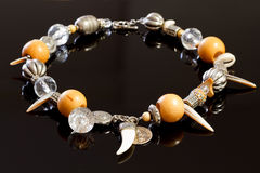Trendy necklace Stock Photos