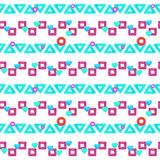 Trendy neon pattern vector illustration