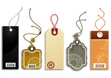 Trendy Price Tags royalty free illustration