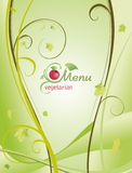 Trendy restaurant menu background to any creative design Royalty Free Stock Images