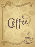 Trendy restaurant menu background to any creative modern design Stock Images