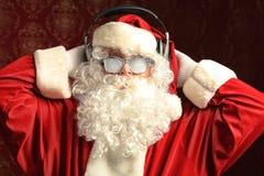 Trendy santa Stock Image