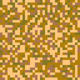 Trendy Seamless digital pixel camouflage pattern Royalty Free Stock Image