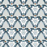 Trendy seamless geometrical pattern royalty free stock photo