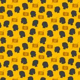 Trendy seamless pattern Royalty Free Stock Photos