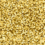 Trendy seamless pattern with golden tinsel. Modern abstract design for paper, wallpaper, cover, fabric and other users. Vector ill. Ustration Royalty Free Stock Photos