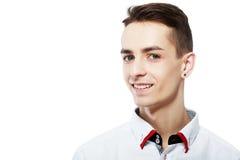 Trendy shirt headshot Stock Images