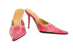Trendy shoes Stock Photography