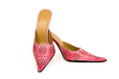 Trendy shoes Stock Images