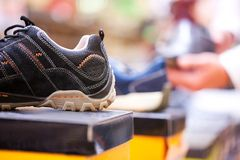 Trendy Sport Shoe for Sale Stock Photo