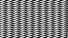 Trendy striped background with wavy texture royalty free illustration